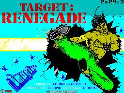 Target; Renegade